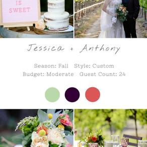 JESSICA + ANTHONY - HARVEST INN NAPA WEDDING