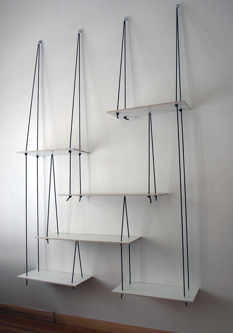 Suspended Display Shelf