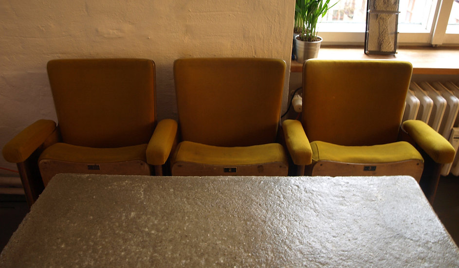 Concrete Cafe table