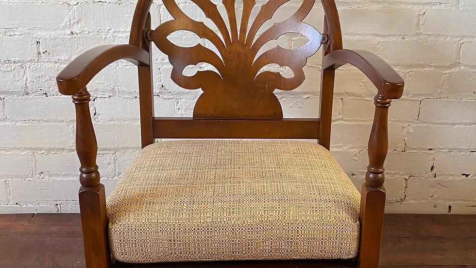 Mid Century Low Rise Chair (Fan)