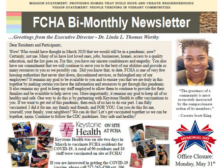May/June 2021 Bi-Monthly Newsletter