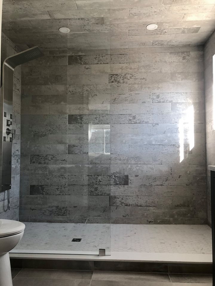 Marks plaster tiles