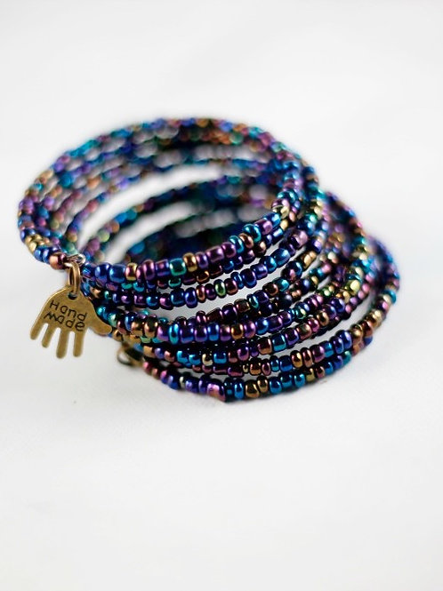 Multicolored Bliss Wrap Bracelet