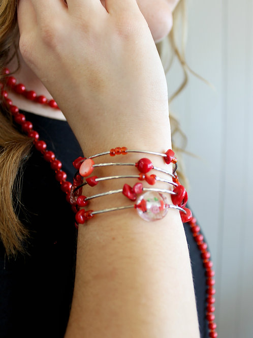 Wrapped in Red Bracelet