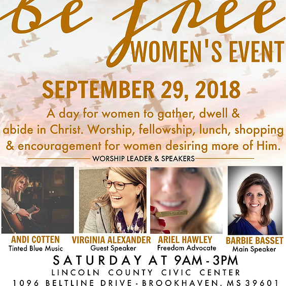 Be Free Women's Event