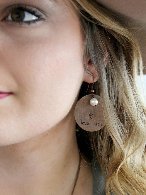 Love Heal Earrings