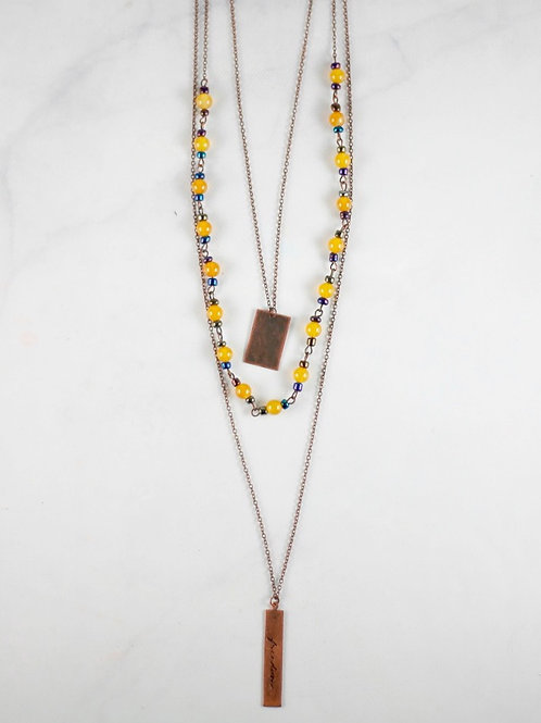 Layered Freedom Necklace