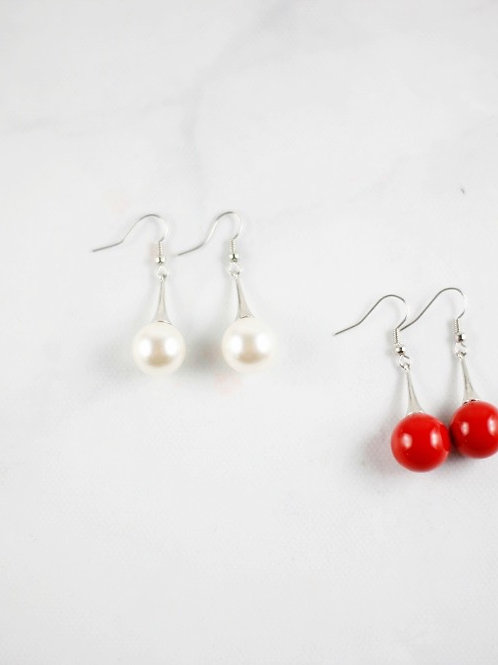 Drops of Pearl Earrings