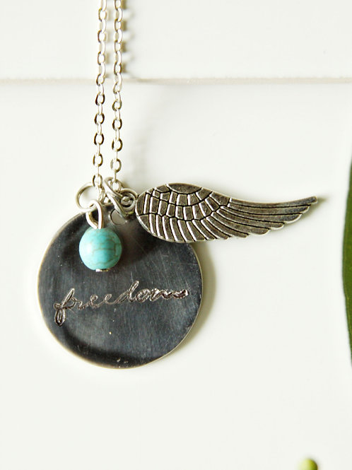 Freedom Wings Necklace