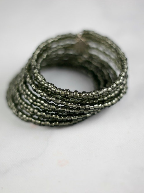 Wrapped in Grey Bracelet