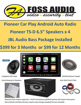 Pioneer JBL Complete System