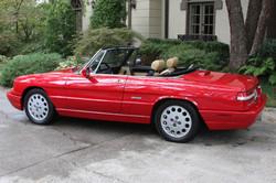 1991 Red Alfa Romeo