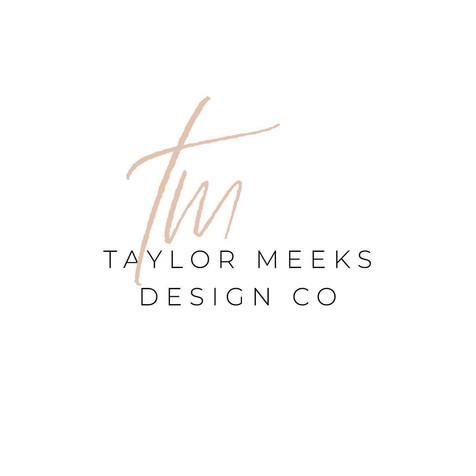 taylor meeks design co's new logo