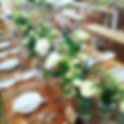wedding flowers table arrangements