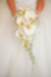 Wedding bouquets, bride