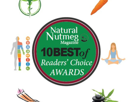 Gratitude.  Voted 10Best in Massage Therapy/Bodywork in 2020, 2019, 2018.