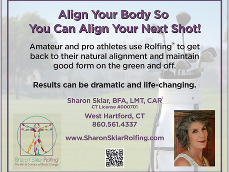 Rolfing® Rhymes With Golfing!