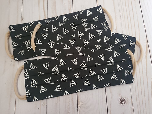 Harry Potter Deathly Hallows Adult Fabric Mask