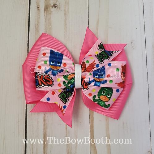 Pink Toddler Hair Bow