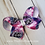 Thumbnail: Galaxy Starbucks Twisted Boutique Hair Bow