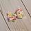 Thumbnail: Fruit Pattern Pinwheel Hair Bow