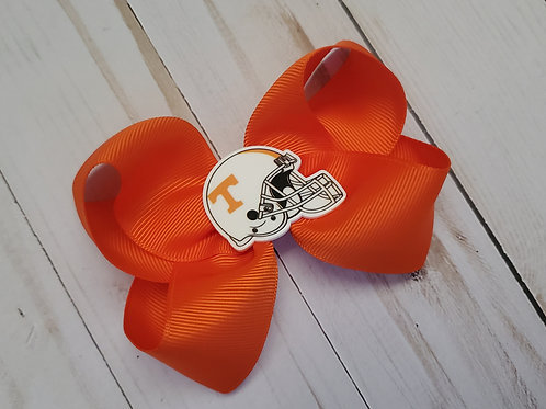 Orange Vols Twisted Boutique Hair Bow