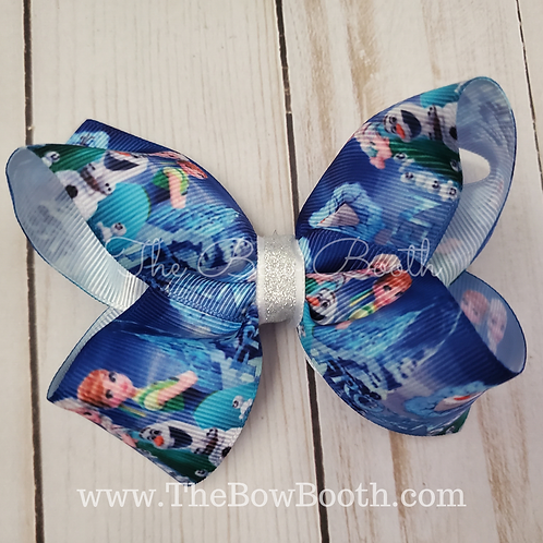 Frozen 2 Hair Bow