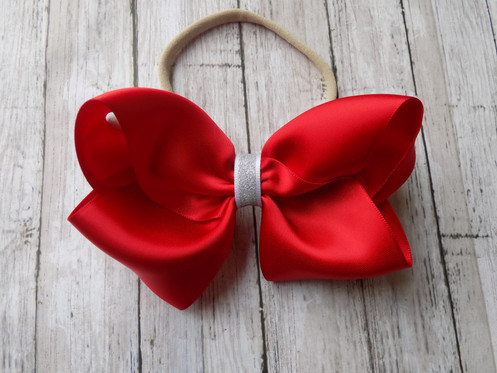 5e6c00fb Red Twisted Boutique Baby Bow Headband