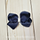 Thumbnail: Solid & Sparkle Twisted Boutique Hair Bow