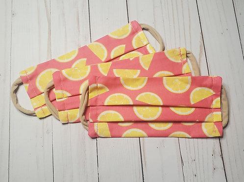 Pink Lemon Mask (Adult)