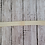 Ivory Baby Toddler Fold Over Elastic Headband with Loop Hair Bow