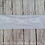 White Stretchy Cotton Headband Headwrap with Loop Hair Bow