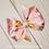 Winnie the Pooh Double Pinwheel Ribbon Bow