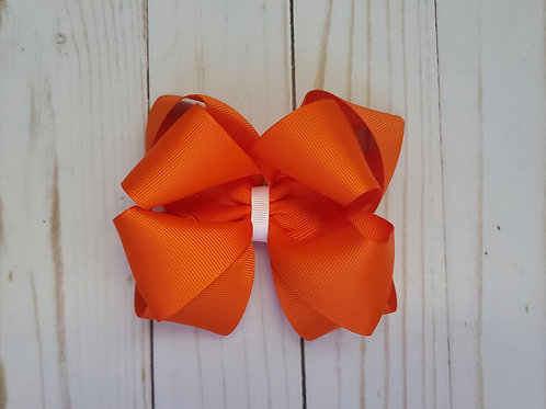 Fall Colors Stacked Twisted Boutique Hair Bow