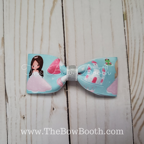 Pretty Princess Pinch Hair Bow