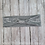Gray Stretchy Cotton Headband Headwrap with Loop Hair Bow