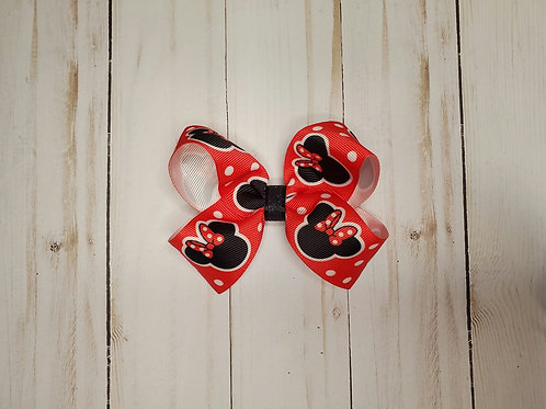 Minne Mouse Twisted Boutique Hair Bow
