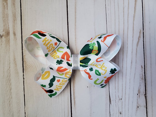 St Patricks Day Graphics Twisted Boutique Bow