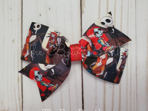 Jack & Sally Hair Bow