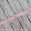 Light Pink Baby Toddler Fold Over Elastic Headband with Loop Hair Bow