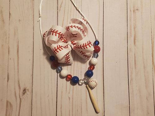 Jentry's Custom Baseball Bow Order