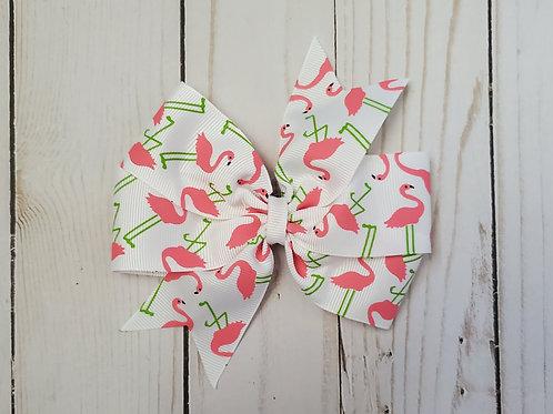Michele's Custom Flamingo Bow Order