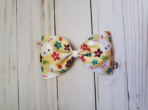 Easter Bunny Pinch Boutique Hair Bow