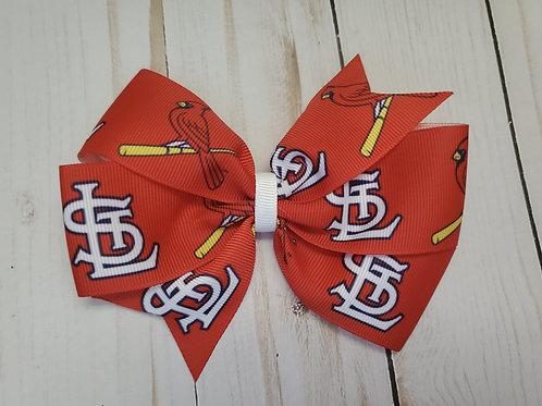 St. Louis Pinwheel Hair Bow