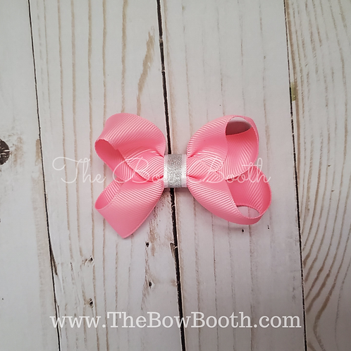 Sparkle Small Twisted Boutique Hair Bow
