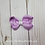 Thumbnail: Small Twisted Boutique Hair Bow Pigtails