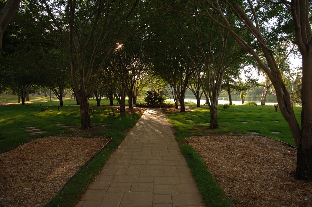 Cremation Garden Pathway