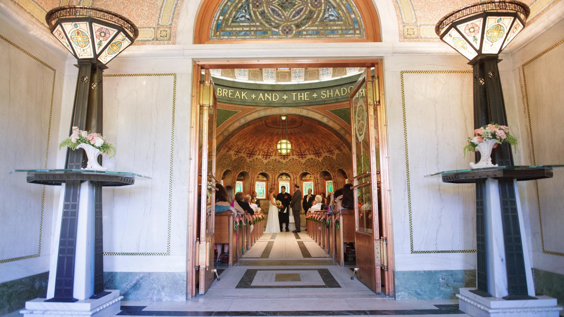 Lakewood Chapel Entrance