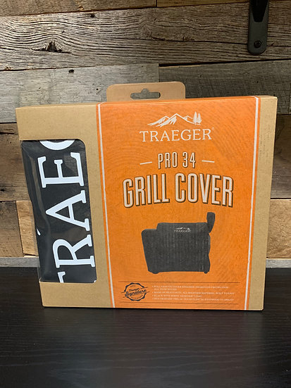 Full-Length Grill Cover Pro 34