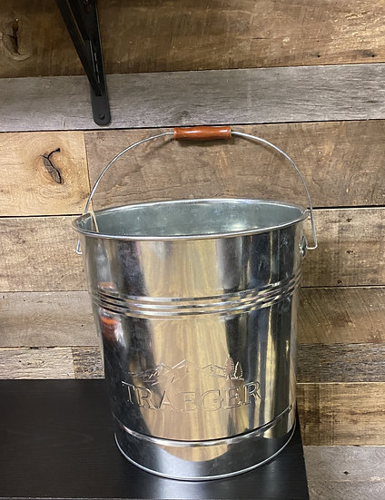 Traeger 20 Lb. Pellet Metal Storage Bucket